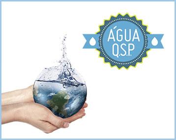 Aliança água Q.S.P. leva conscientização para empresas